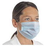 Disposable surgical 3 ply face masks