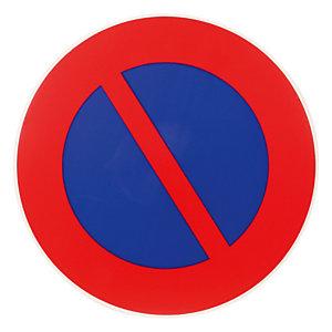 Disque de signalisation d'interdiction de stationner ø 30 cm