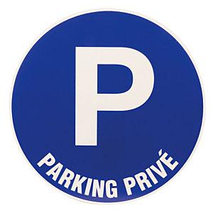 Disque de signalisation parking privé ø 30 cm