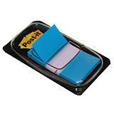 Distributeur de 50 index Post-it®  largeur 25 mm coloris bleu