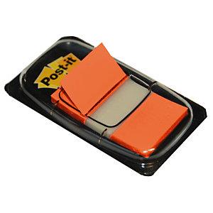 Distributeur de 50 index Post-it®  largeur 25 mm coloris orange