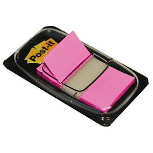 Distributeur de 50 index Post-it®  largeur 25 mm coloris rose