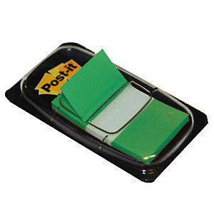 Distributeur de 50 index Post-it®  largeur 25 mm coloris vert