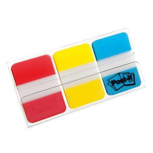 Distributeur de 66 index Post-it® Strong Largeur 25 mm coloris assortis classique