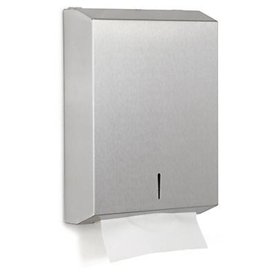 Distributeur essuie-mains métal inox brossé