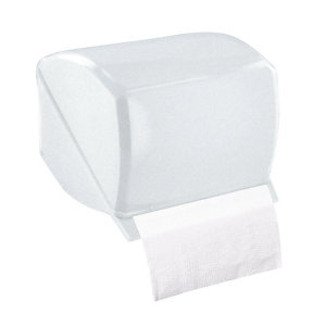 Distributeur de papier toilette mixte, ABS 1er prix