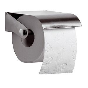 Distributeur papier toilette en rouleaux Axos Rossignol, coloris inox