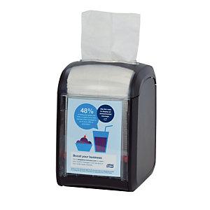 Distributeur de serviettes Tork Xpressnap Fit ®, modèle table, noir