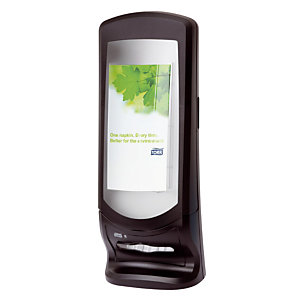 Distributeur de serviettes Tork Xpressnap® N4, modèle grande capacité, coloris noir