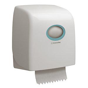 Distributeur Slimroll Aquarius® et 6 bobines essuie-mains Scott®