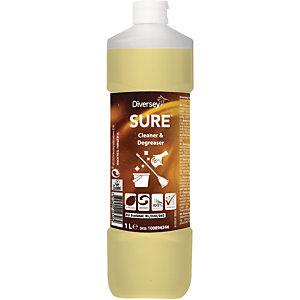 Diversey SURE Cleaner & Degreaser Detergente e sgrassatore A base vegetale Biodegradabile al 100% 1 litro