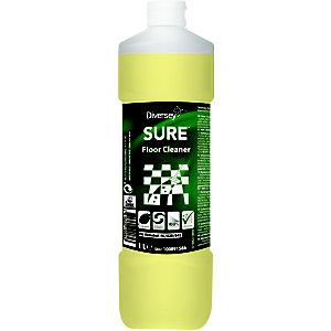 Diversey SURE Floor Cleaner Detergente per pavimenti A base vegetale Biodegradabile al 100% 1 litro