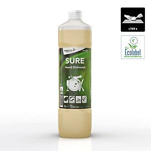 Diversey SURE Hand Dishwash Detersivo per piatti a mano A base vegetale Biodegradabile al 100% 1 litro