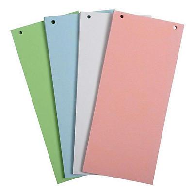 Divisori in cartoncino colorato per raccoglitori