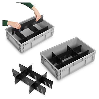 Divisórias para caixas norma europeia