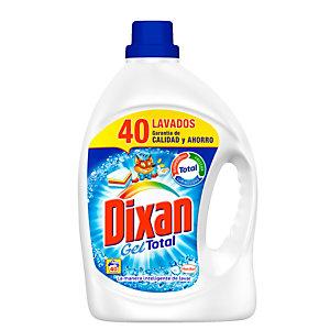 DIXAN Gel Total Detergente líquido quitamanchas, 2480 ml, 40 lavados