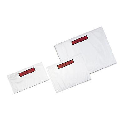 Pochette porte-documents avec impression##Documenthoes Super met bedrukking in dispenserdoos