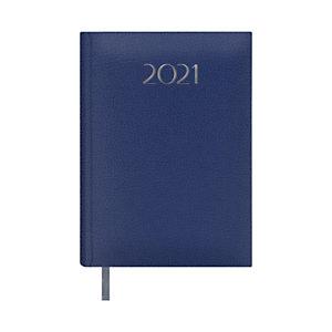 DOHE Agenda día-página 2021, 140 x 200 mm, castellano, azul