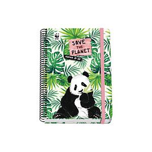 DOHE Agenda escolar bilingüe castellano-ingles semana-vista curso 2021-2022, WWF - Save the Planet, A5