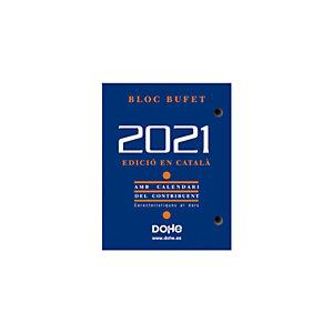 DOHE Bloques calendario 2021, 85 x 110 mm, català