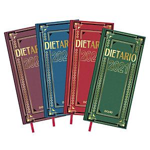DOHE Dietario 2021, 140 x 310 mm, castellano, colores surtidos