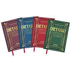 DOHE Dietario 2021, 150 x 220 mm, castellano, colores surtidos
