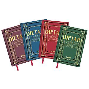 DOHE Dietario 2021, 150 x 220 mm, català, colores surtidos