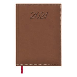 DOHE Ipanema Agenda semana-vista 2021, 170 x 240 mm, castellano, rojo