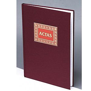 DOHE Libro de actas hojas encuadernadas 100 hojas