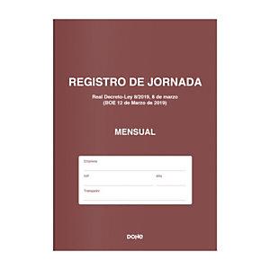 DOHE Libro de Registro de Jornada - Mensual (12 meses)
