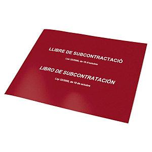 DOHE Libro de subcontratación Castellano / Català