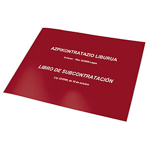 DOHE Libro de subcontratación castellano / euskera
