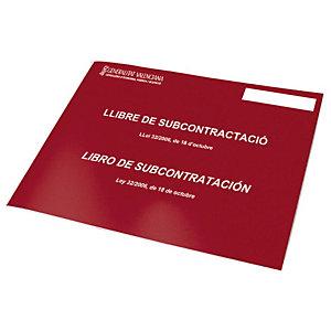 DOHE Libro de subcontratación Castellano / Valenciá