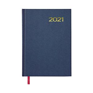 DOHE Sintex Agenda día-página 2021, 140 x 200 mm, castellano, azul