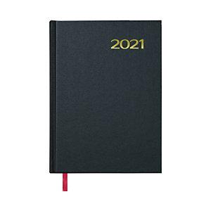 DOHE Sintex Agenda día-página 2021, 140 x 200 mm, castellano, negro