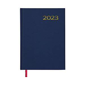 DOHE Sintex Agenda día-página 2022, 140 x 200 mm, castellano, azul