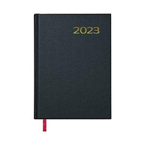 DOHE Sintex Agenda día-página 2022, 140 x 200 mm, castellano, negro
