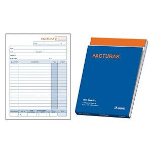 DOHE Talonario preimpreso en català para factures 4º natural 148 x 210 mm amb còpia 50 x 2