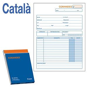 DOHE Talonario preimpreso en català proposta de comanda 144 x 210 mm amb còpia 50 x 2