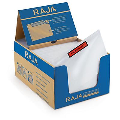 Pochette porte-documents adhésive RAJA##Dokumententaschen mit Aufdruck RAJA Super