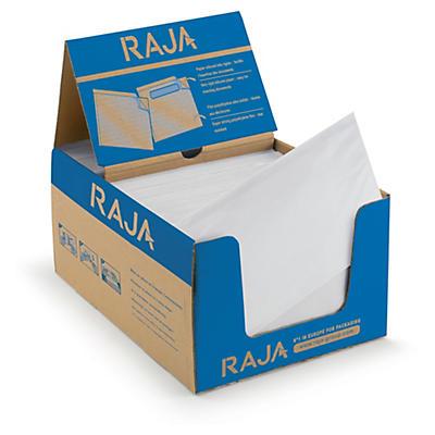 Pochette porte-documents adhésive transparente RAJA##Dokumententaschen ohne Aufdruck RAJA Super
