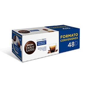DolceGusto Capsule per caffè Espresso Ardenza, 48 dosi (confezione 48 pezzi)