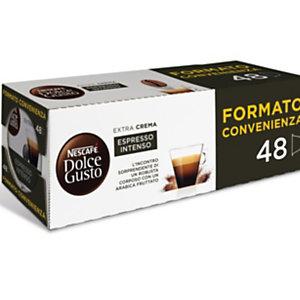 DolceGusto Capsule per caffè Espresso Intenso, 48 dosi (confezione 48 pezzi)