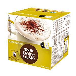 DolceGusto Dolce Gusto Cappuccino Caffè in capsule, Cappuccino, 8 dosi, 200 g (confezione 16 pezzi)