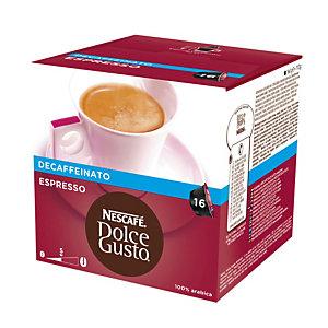 DolceGusto Espresso Decaffeinato Caffè in capsule, Espresso, Decaffeinato, 16 dosi, 112 g (confezione 16 pezzi)