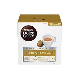 DolceGusto Espresso Milano, Caffè in capsule, Espresso, 16 dosi (confezione 16 pezzi)