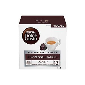 DolceGusto Espresso Napoli, Caffè in capsule, Espresso, 16 dosi (confezione 16 pezzi)