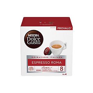 DolceGusto Espresso Roma, Caffè in capsule, Espresso, 16 dosi (confezione 16 pezzi)