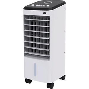 DOMAIR Rafraîchisseur d'air mobile KFC817 - 65 W Blanc