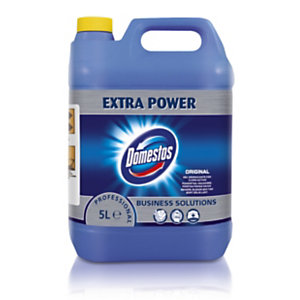Domestos Limpiador lejía espesa profesional original 24 horas garrafa 5 l